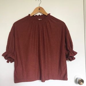 Madewell - Texture and Thread blouse size S